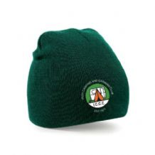 Irish Camping & Caravan Club Beechfield Original Beanie Hat Bottle Green 2019